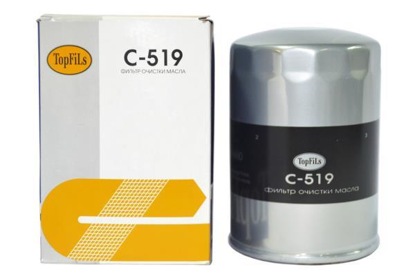 Фильтр масляный TOP FILS C-519 15208-89TA2 C-519 купить в Абакане