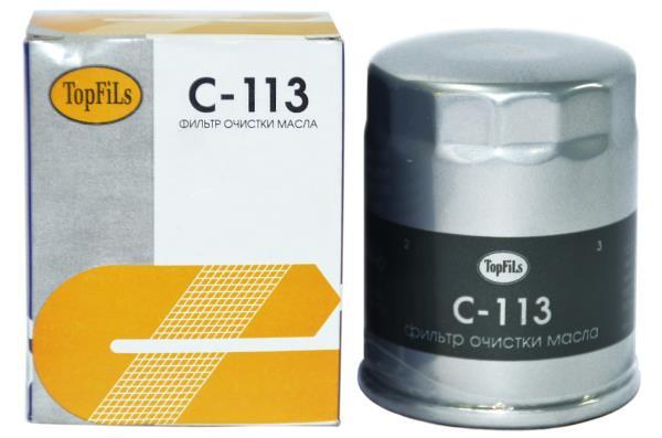 Фильтр масляный TOP FILS C-113 90915-03004 C-113 купить в Абакане