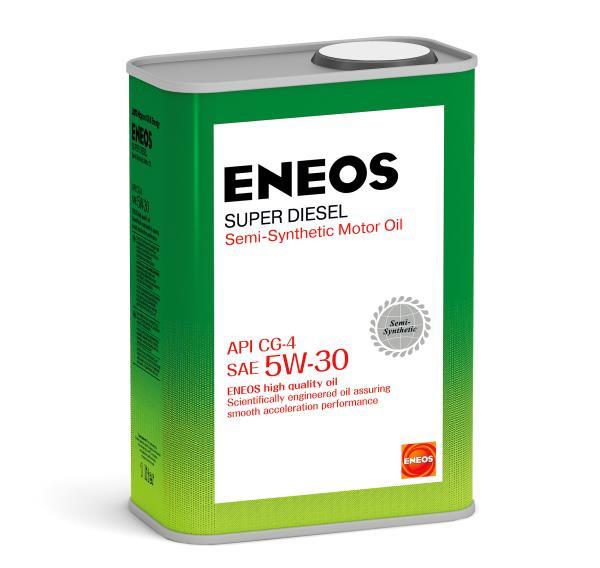Моторное масло Масло моторное ENEOS Super Diesel CG-4 псинт 5W30 1л oil1330 купить в Абакане