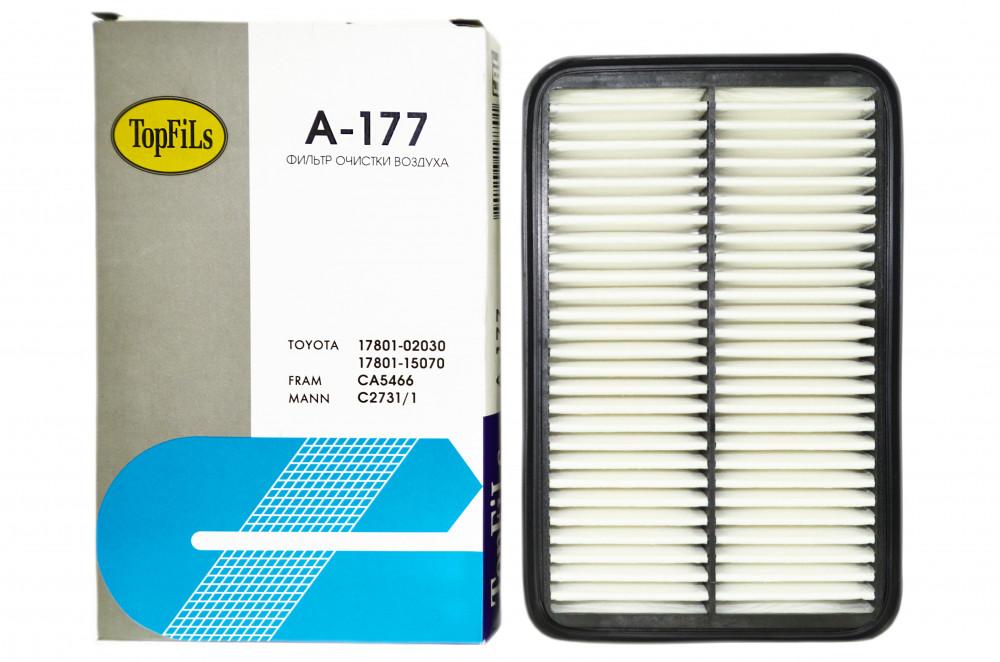 Фильтр воздушный TOP FILS A-177 17801-15070 A-177 купить в Абакане