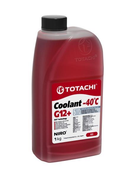 Охлаждающая Жидкость TOTACHI NIRO Coolant Red -40C G12+ 1кг 4589904527562 купить в Абакане