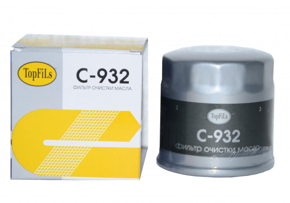 Фильтр масляный TOP FILS C-932 16510-73002 C-932 купить в Абакане