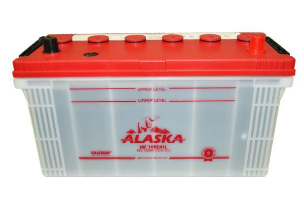 Аккумуляторная батарея ALASKA MF 100 105E41L calcium + 8808240010542 купить в Барнауле