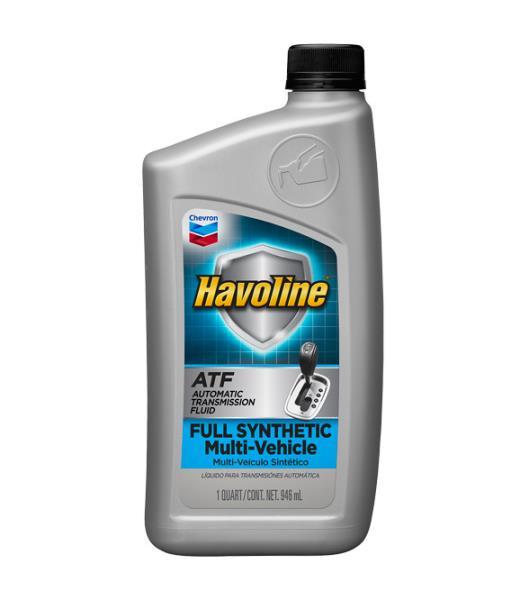Синтетическая жидкость для АКПП - CHEVRON Havoline® Synthetic ATF Multi-Vehicle 0.946л 226536481 купить в Абакане