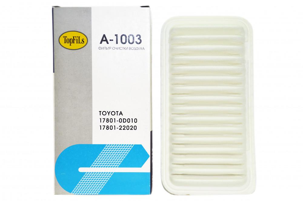 Фильтр воздушный TOP FILS A-1003 17801-22020 A-1003 купить в Абакане