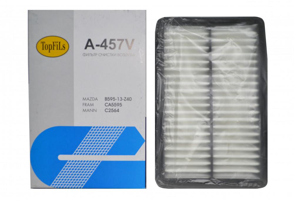 Фильтр воздушный TOP FILS A-457 V B595-13-Z40 A-457V купить в Абакане