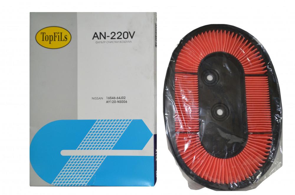 Фильтр воздушный TOP FILS AN-220 V 16546-64J02 AN-220V купить в Абакане