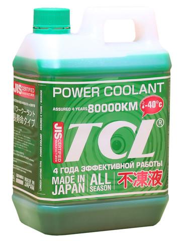 АНТИФРИЗ TCL POWER COOLANT -40C зеленый, длительного действия, 2 л PC2-40G купить в Абакане