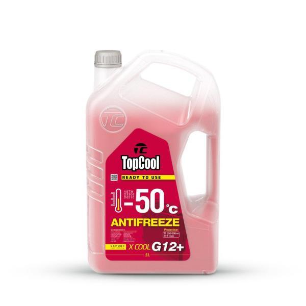 Жидкость охлаждающая TopCool Antifreeze Х cool -50 C 5л. (розовый) G12+ Z0038 купить в Абакане