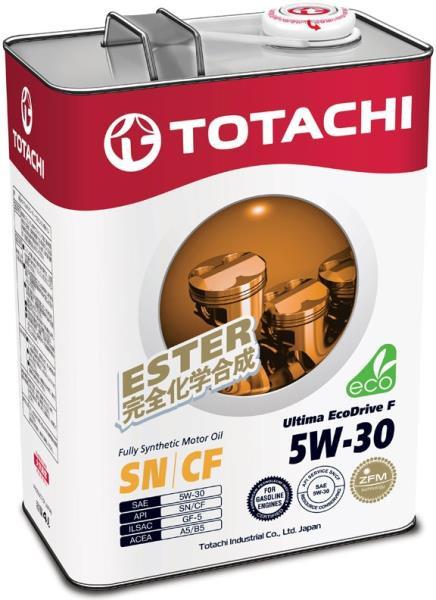Моторное масло Масло моторное TOTACHI Ultima EcoDrive F SN / CF Синтетика 5W30 4л 4562374690967 купить в Абакане