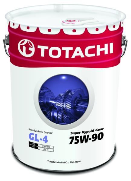 Масло трансмиссионное TOTACHI Super Hypoid Gear Oil GL-4 псинт 75W90 20л 4562374692237 купить в Барнауле