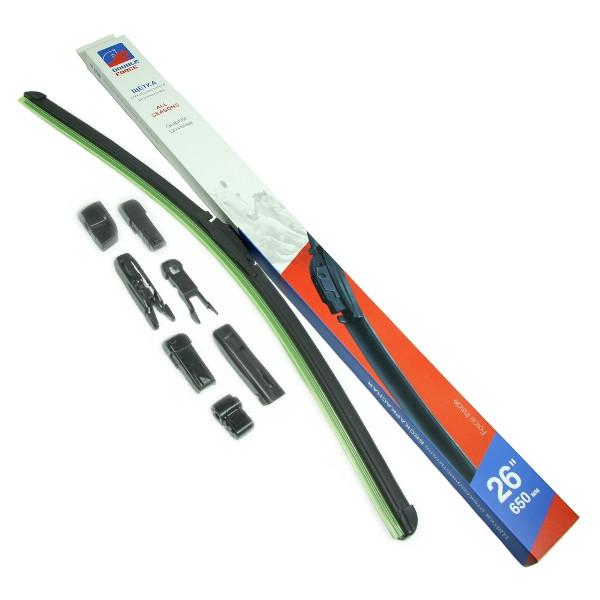 Щетка стеклоочистителя бескаркасная Double Force 650 мм (26) DFF26 купить в Абакане