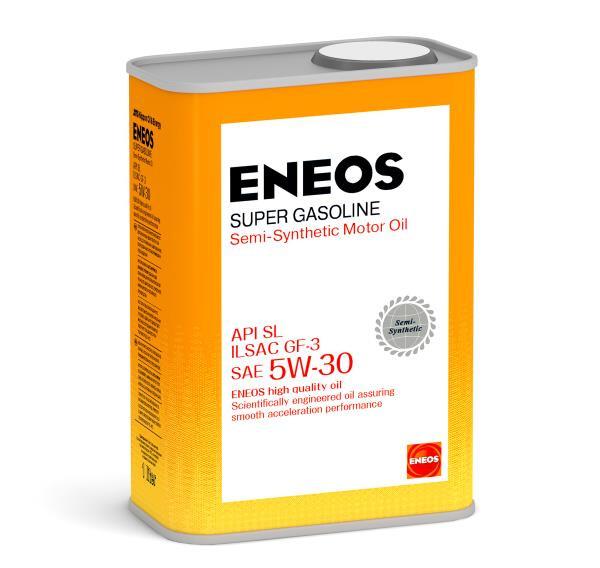 Моторное масло Масло моторное ENEOS Super Gasoline SL псинт 5W30 1л oil1358 купить в Абакане