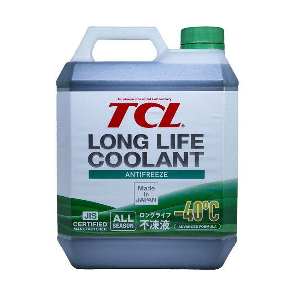 АНТИФРИЗ TCL LLC -40C зеленый, 4 л LLC01243 купить в Абакане