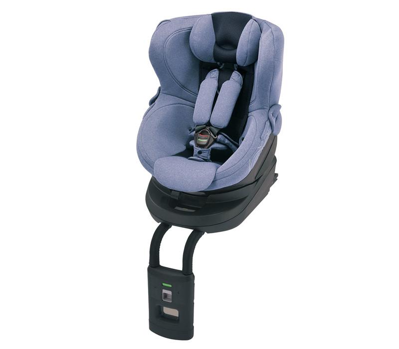 Кресло детское автомобильное Kurutto 4i, группа 0+ / 1, Isofix, синее BF8671E купить в Абакане