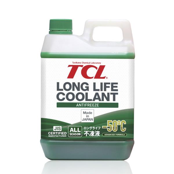 АНТИФРИЗ TCL LLC -50C зеленый, 2 л LLC00734 купить в Абакане