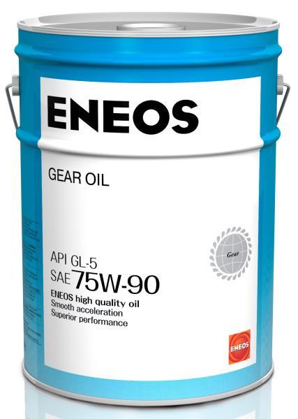 Масло трансмиссионное ENEOS GEAR GL-5 75W90 20л oil1369 купить в Абакане