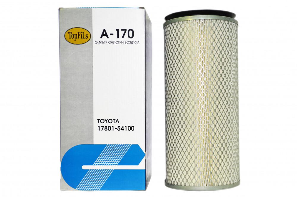 Фильтр воздушный TOP FILS A-170 17801-54100 A-170 купить в Абакане