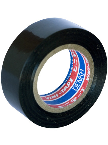 Лента изоляционная Denka Vini Tape, 18 мм, 20 м, черная #103-18 Black 20m купить в Абакане