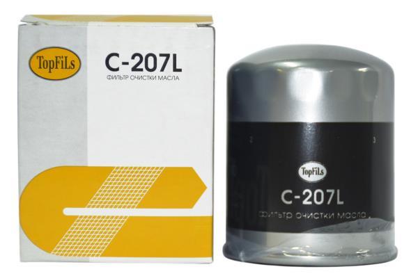Фильтр масляный TOP FILS C-207 L 15208-H8903 C-207L купить в Абакане