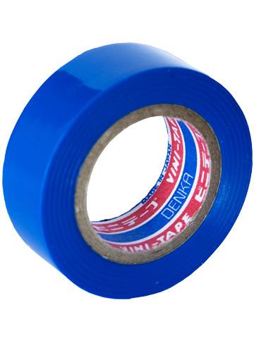 Лента изоляционная Denka Vini Tape, 19 мм, 9 м, синяя #102-Blue 9m купить в Абакане