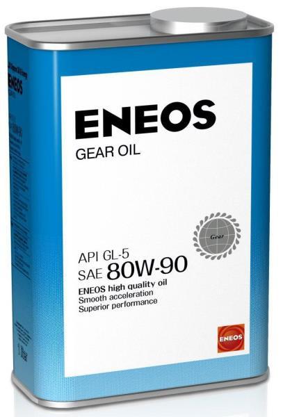 Масло трансмиссионное ENEOS GEAR GL-5 80W90 1л oil1372 купить в Абакане
