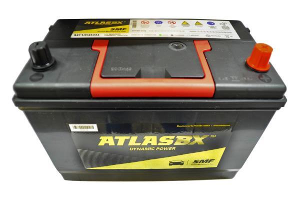Аккумулятор ATLAS MF 90 105D31L MF105D31L купить в Абакане