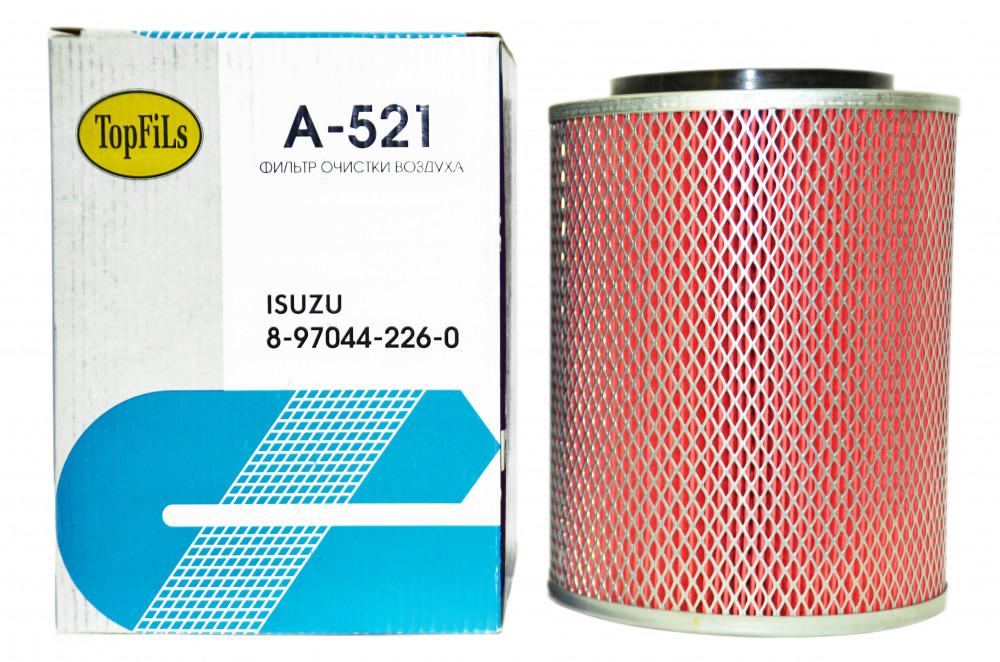 Фильтр воздушный TOP FILS A-521 8-97044-226-0 A-521 купить в Абакане