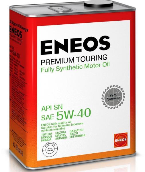Моторное масло Масло моторное ENEOS Premium TOURING SN 5W-40 4л 8809478942162 купить в Абакане
