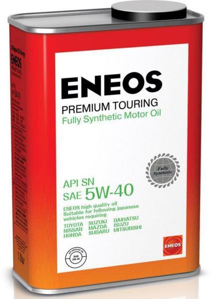 Моторное масло Масло моторное ENEOS Premium TOURING SN 5W-40 1л 8809478942148 купить в Абакане