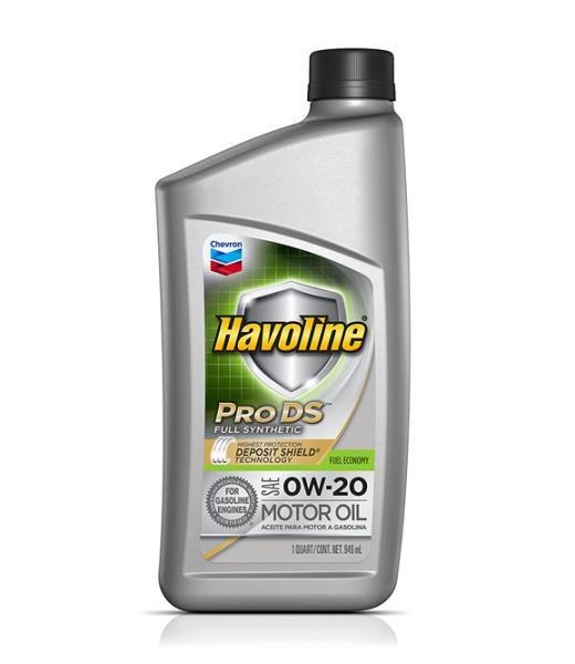 Моторное масло Масло моторное синтетическое - HAVOLINE PRODS SYNTHETIC M / O SAE 0W-20 0.946л. 223501482 купить в Абакане