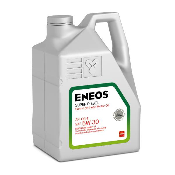 Моторное масло Масло моторное ENEOS Super Diesel CG-4 псинт 5W30 6л oil1334 купить в Абакане