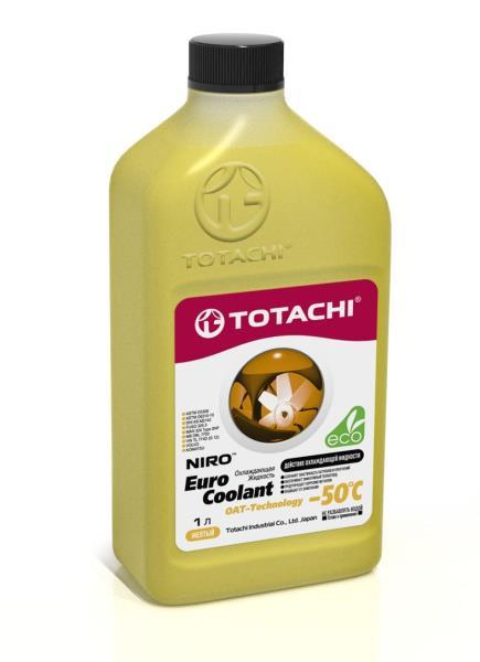 Охлаждающая жидкость TOTACHI NIRO EURO COOLANT -50°C Карбоксилатн. 1л 4589904924095 купить в Барнауле