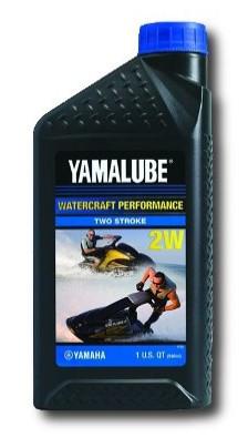 Моторное масло Yamalube 2W, 2Т, Semisynthetic Oil (0, 946 л) LUB2STRKW112 купить в Абакане