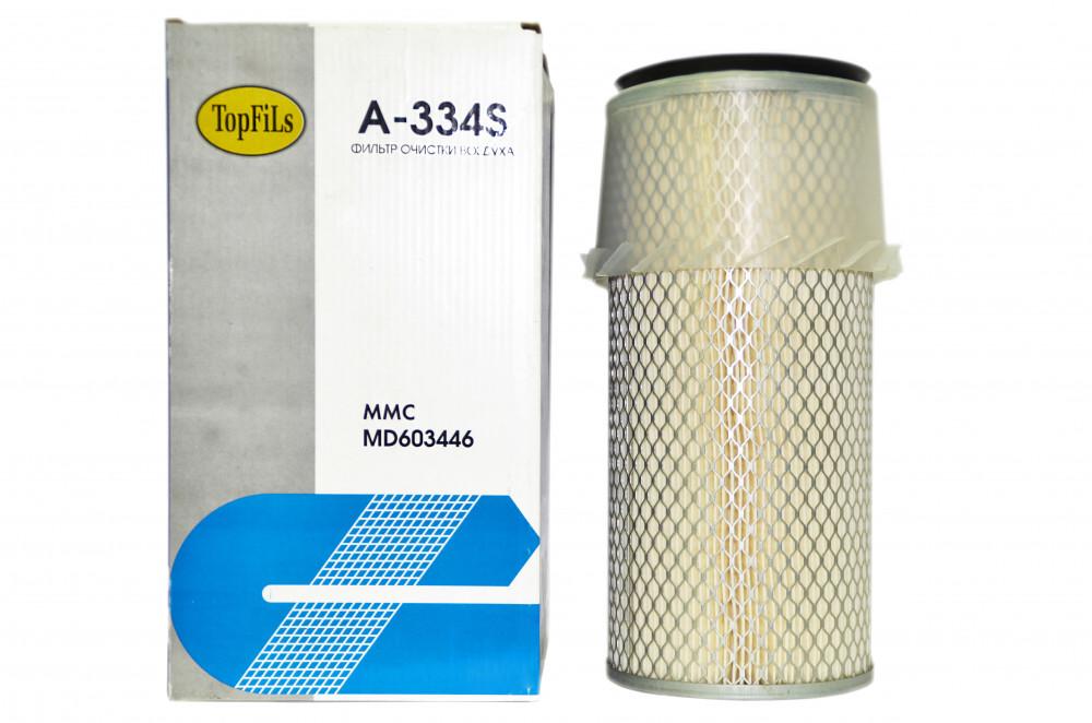 Фильтр воздушный TOP FILS A-334 S MD603446 A-334 S купить в Абакане