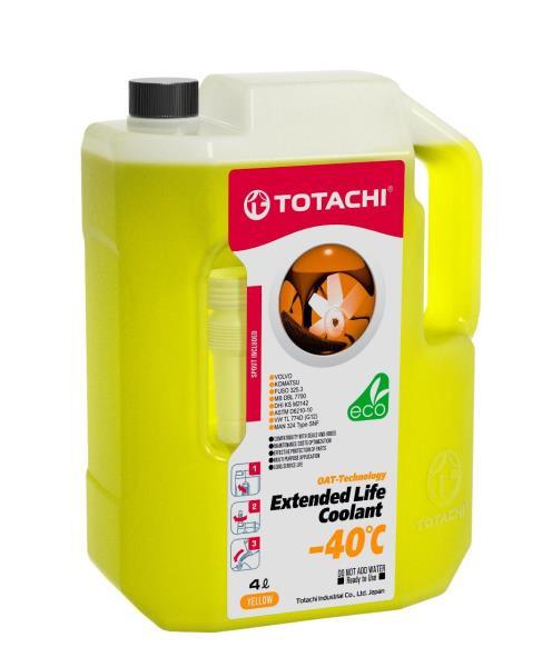 Охлаждающая жидкость низкозамерзающая TOTACHI EXTENDED LIFE COOLANT -40 C , 4л 4589904926624 купить в Абакане