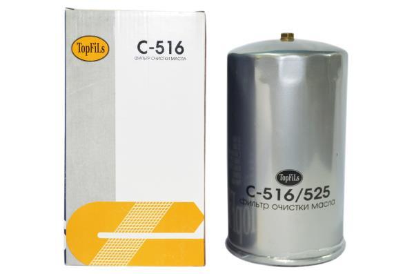 Фильтр масляный TOP FILS C-516 5-87310-490-0 C-516 купить в Абакане