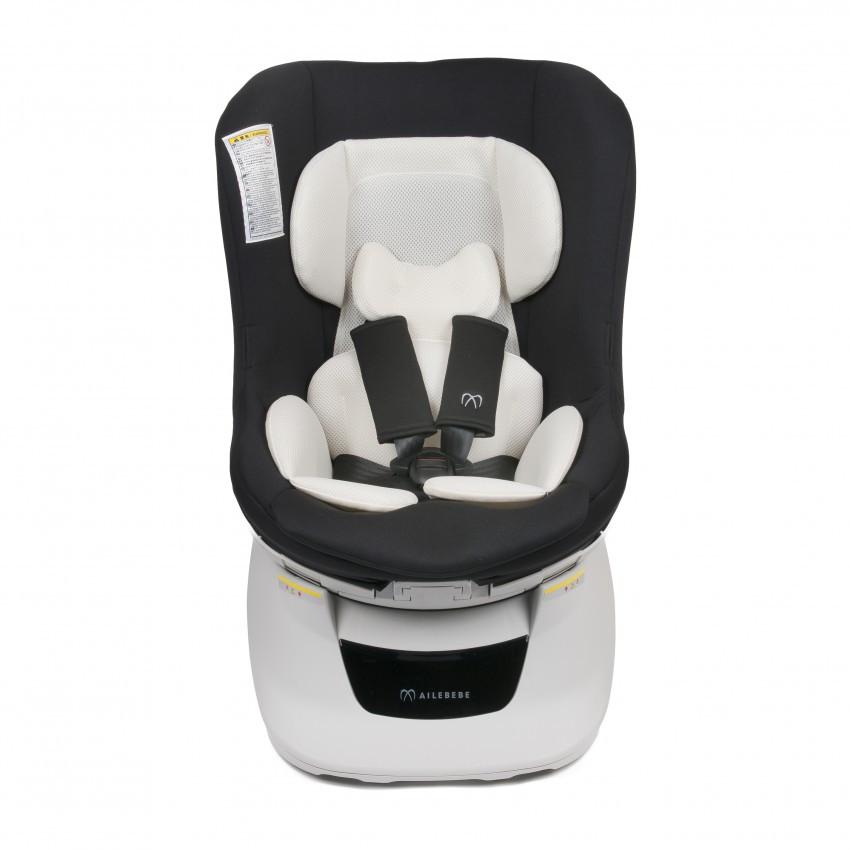 Кресло детское автомобильное Kurutto NT2, группа 0+ / 1, черное ALB801E купить в Абакане