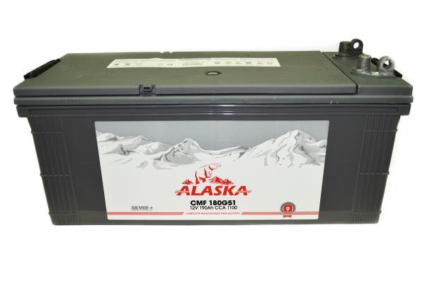 Аккумулятор ALASKA CMF 190 180G51L silver+ 8808240010566 купить в Абакане