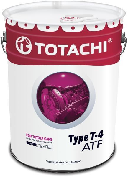 Жидкость для АКПП TOTACHI ATF TYPE T-IV синт. 20л 4562374691032 купить в Абакане