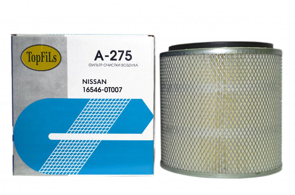 Фильтр воздушный TOP FILS A-275 16546-0T006 A-275 купить в Абакане