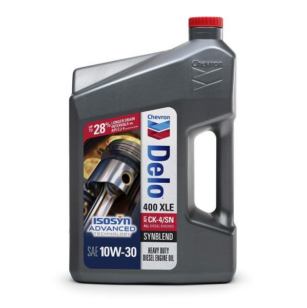 Моторное масло Полусинтетическое Универсальное Моторное Масло CHEVRON DELO 400 XLE SYNBLEND 10W30 CK-4 / SN 3.785 л. 257000388 купить в Абакане