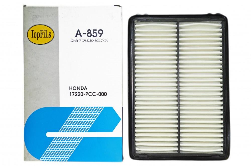 Фильтр воздушный TOP FILS A-859 17220-PCC-000 A-859 купить в Абакане