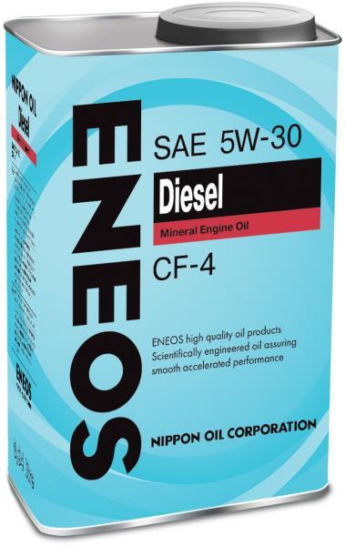 Моторное масло Масло моторное ENEOS Diesel CF-4 Минерал 5W30 0, 94л 01000006 купить в Абакане