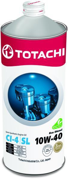 Моторное масло Масло моторное TOTACHI Eco Diesel CI-4 / CH-4 / SL псинт 10W40 1л 4562374690516 купить в Абакане