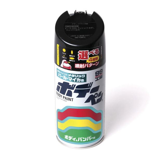 Краска для кузова Soft99 Body Paint 3PO, аэрозоль, 300 мл T-184 купить в Абакане