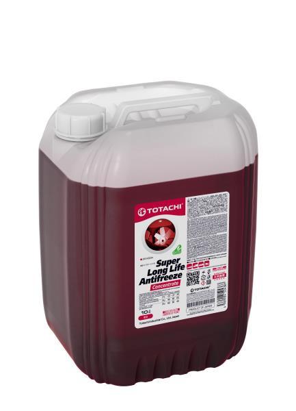 Концентрат охлаждающей жидкости TOTACHI SUPER LONG LIFE ANTIFREEZE Red 10л 4589904925078 купить в Абакане