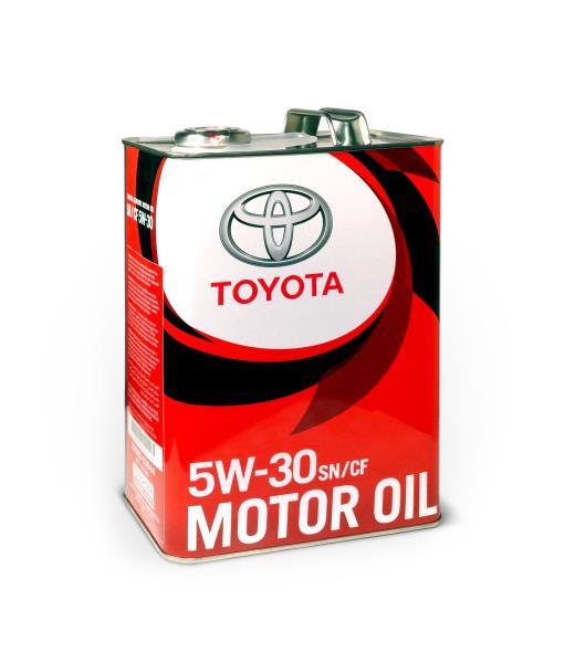 Моторное масло Масло моторное синтетическое - 08880-83944 TOYOTA MOTOR OIL SN / CF 5 / 30 4л 08880-83944 купить в Владивостоке