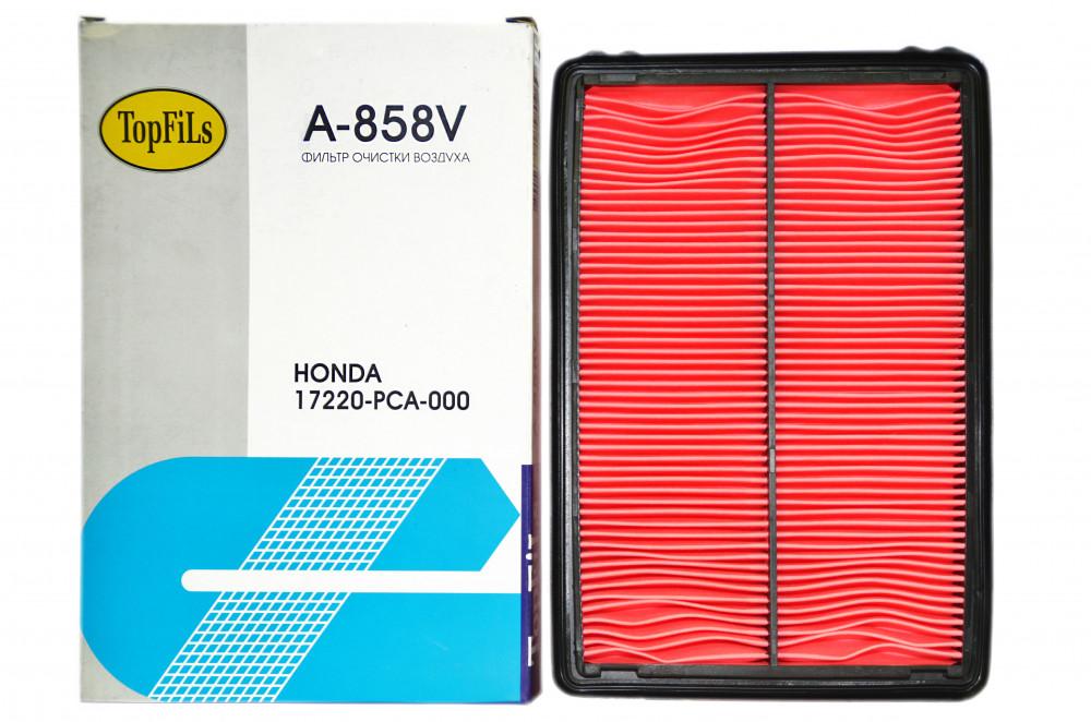 Фильтр воздушный TOP FILS A-858 V 17220-PCA-000 A-858 V купить в Абакане