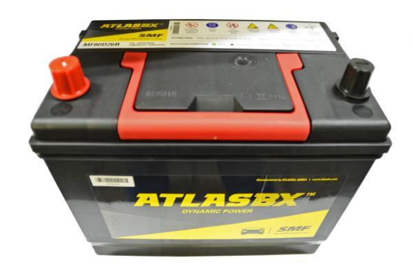 Аккумулятор ATLAS MF 70 80D26R MF80D26R купить в Абакане